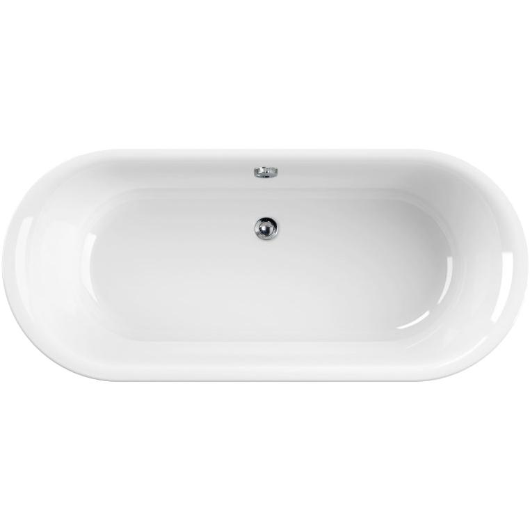 Акриловая ванна Cezares Metauro Central 180х80 Белая