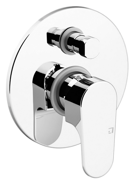 H2Omix1000 1034 хромСмесители<br>Смеситель встраиваемый для ванны Gattoni H2Omix1000 1034 без излива, с автоматическим переключателем ванна/душ. Цена указана за внешнюю и внутреннюю части смесителя. Все остальное приобретается дополнительно.<br>
