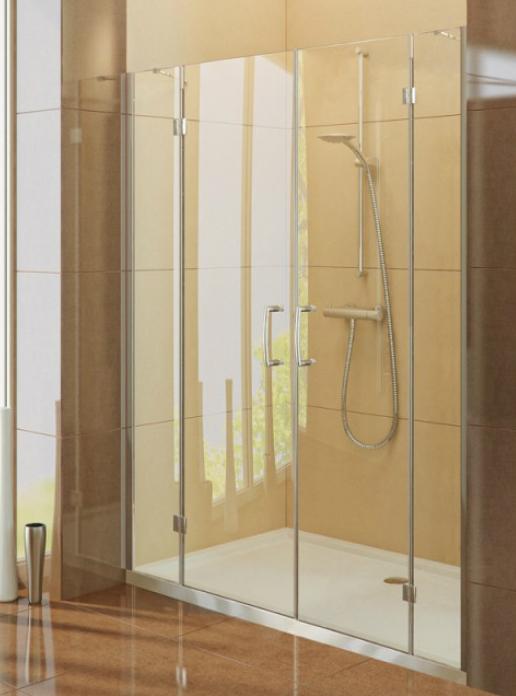 Renoma D-0039A/D-0040A Прозрачное стеклоДушевые ограждения<br>Двери в нишу New Trendy Renoma D-0039A/D-0040A имеет прозрачное стекло 6mm, покрытие Active Shield (защита от осаждения камня и других загрязнений на стекле). Двери Renoma имеют петли с подъёмным механизмом , которые позволяют легко открывать и закрывать двери. Модели Renoma отличаются лёгкой конструкцией и минималистическим стилем.<br>