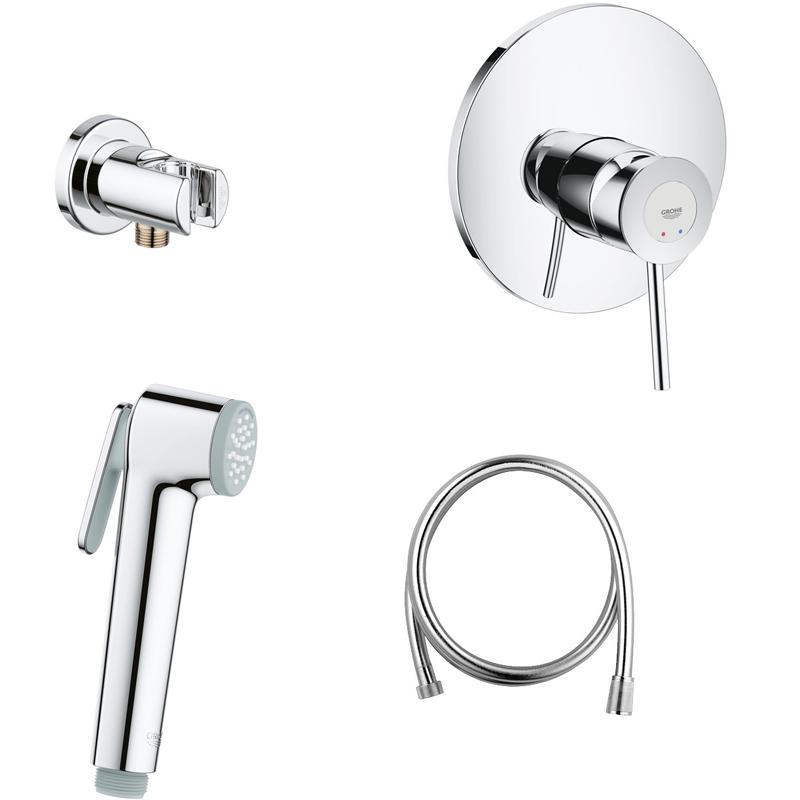 Гигиенический душ со смесителем Grohe BauClassic 124901 - фото