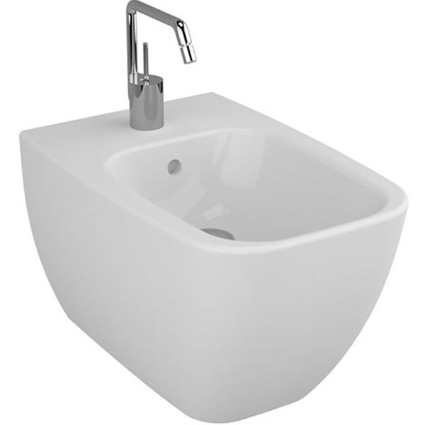 Shift 4398B003-0290 напольное БелоеБиде<br>Биде Vitra Shift 4398B003-0290 напольное.<br>Современный дизайн изделия прекрасно впишется в интерьер любой ванной комнаты.<br>Материал: санфарфор толщиной 18 мм, не впитывающий грязь.<br>Одно отверстие под смеситель.<br>Слив-перелив.<br>