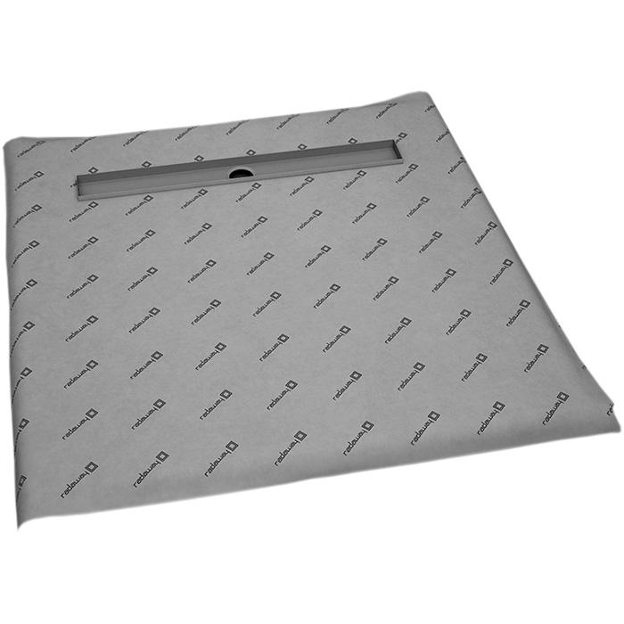 Душевая плита Radaway RadаDrain 109x109 для плитки 8-12 мм с лотком под плитку Basic душевая плита radaway radаdrain 89x109 для плитки 5 7 мм с лотком под плитку basic