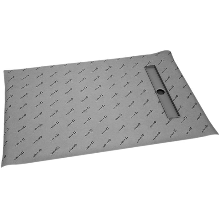 Душевая плита Radaway RadаDrain 109x89 для плитки 8-12 мм с лотком под плитку Basic душевая плита radaway radаdrain 89x109 для плитки 5 7 мм с лотком под плитку basic