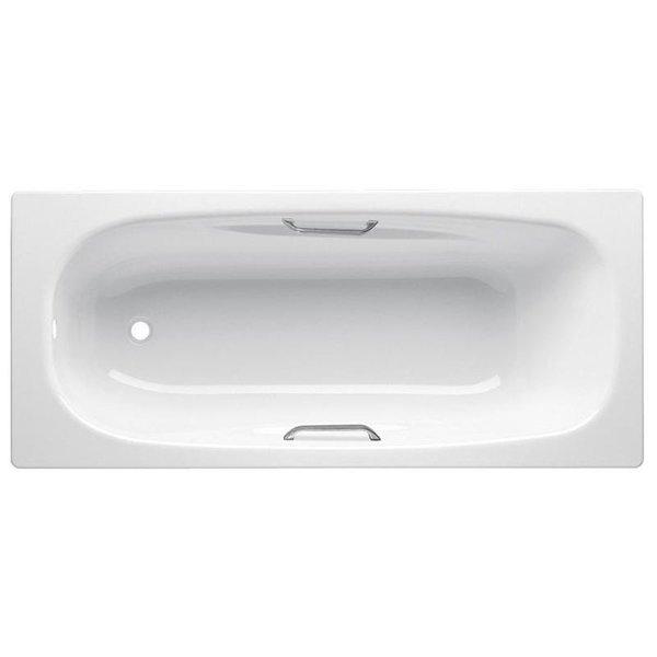 Anatomica HG 170х75 B75L handles с ручками БелаяВанны<br>Ванна стальная B75L handles 170x75 с отверстиями для ручек выполнена из материалов, прошедших экологический контроль. Эмалевое покрытие устойчиво к воздействию света, химическим веществам и механическим повреждениям. Толстостенная ванна имеет отличную звуко- и шумоизоляцию. Стиль исполнения ванны – современный.<br>