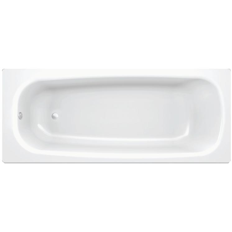 Universal HG 150x70 B50H БелаяВанны<br>Ванна стальная B50H 150x70 выполнена из материалов, прошедших экологический контроль. Эмалевое покрытие устойчиво к воздействию света, химическим веществам и механическим повреждениям. Толстостенная ванна имеет хорошую шумоизоляцию. Стиль исполнения ванны – современный.<br>