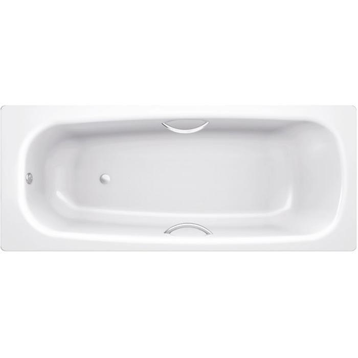 Universal HG 150x70 B50H handles с ручками БелаяВанны<br>Ванна стальная B50H handles 150х70 с отверстиями для ручек выполнена из материалов, прошедших экологический контроль. Эмалевое покрытие устойчиво к воздействию света, химическим веществам и механическим повреждениям. Толстостенная ванна имеет хорошую шумоизоляцию в комплекте. Толщина листа стали 3,5 мм. Стиль исполнения ванны – современный.<br>