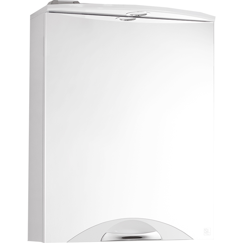 Зеркальный шкаф Style Line Жасмин 2 55 С Люкс с подсветкой