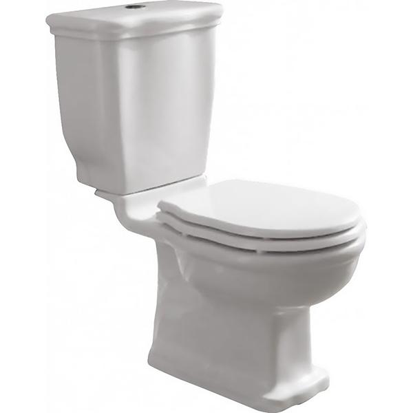 Boheme BB115CPS без сиденьяУнитазы<br> Унитаз-компакт BelBagno Boheme S trap BB115CPS напольный. Ретро дизайн изделия, подходящий для любого классического интерьера. Традиционный элегантный выбор. Хорошо будет смотреться в ванной комнате в стиле Прованс и Кантри. <br><br> Вертикальный выпуск S trap.<br>Слив по всему периметру чаши.<br>Покрытие специальной эмалью.<br>Стойкость к механическим повреждениям.<br>Крепление к полу.<br> В комплекте поставки чаша унитаза.<br>