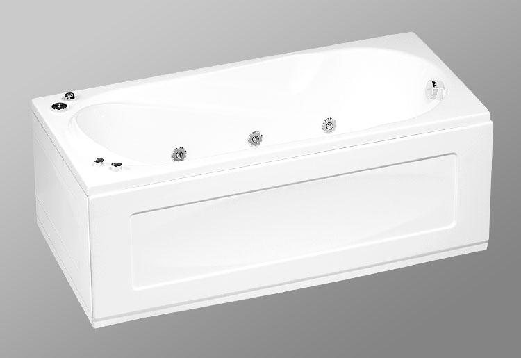 Rio la Plata 160х75 StandartВанны<br>В комплект входит: ванна, рама, монтажный набор, сточный комплект. Дополнительно вы можете приобрести: боковую и фронтальную декоративную панель, шторки, смеситель, подголовник, карниз, уплотнительный профиль Akriflex, средство для очистки акриловых поверхностей, средство для очистки гидромассажных систем, чистящее средство для шторок Nanoglass, ароматическая жидкость Aroma.<br>