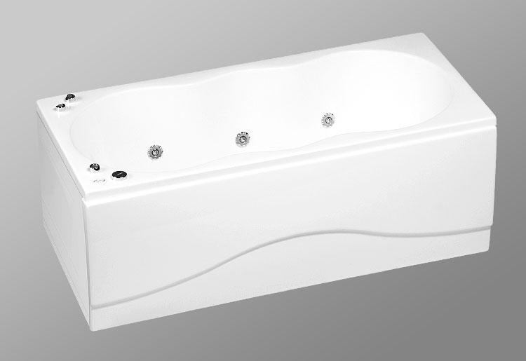 Rio Tiguana 170х80 StandartВанны<br>В комплект входит: ванна, рама, монтажный набор, сточный комплект. Дополнительно вы можете приобрести: боковую и фронтальную декоративную панель, шторки, смеситель, подголовник, карниз, уплотнительный профиль Akriflex, средство для очистки акриловых поверхностей, средство для очистки гидромассажных систем, чистящее средство для шторок Nanoglass, ароматическая жидкость Aroma.<br>