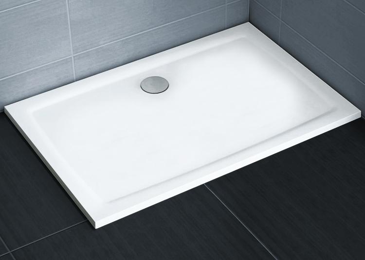 Gigant Pro 100x80 Flat  БелыйДушевые поддоны<br>Ravak Gigant Pro Flat 1000x800 мм., поддон из литого мрамора, белый.<br>