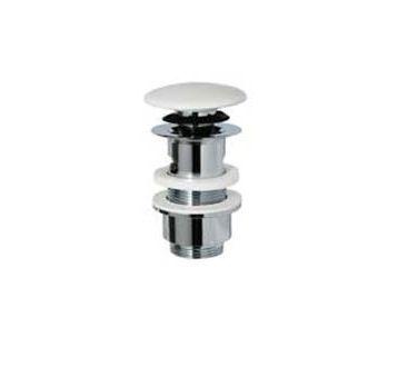 Ricambi ML.RIC-10.121 CR (хром)Комплектующие<br>Донный клапан Migliore Ricambi ML.RIC-10.121 CR с верхней керамической крышкой белого цвета. Цвет изделия - хром.<br>