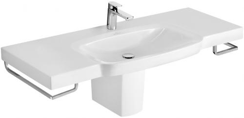 Sentique 5142A0R1  Белый альпинРаковины<br>Раковина встраиваемый Villeroy &amp; Boch Sentique 5142A0R1. С переливом, включая хромированную крышку перелива. Отверстие для смесителя. Покрытие Ceramic Plus - особо гладкая поверхность, на которой не остаются загрязнения и пыль. Цвет белый альпин.<br>