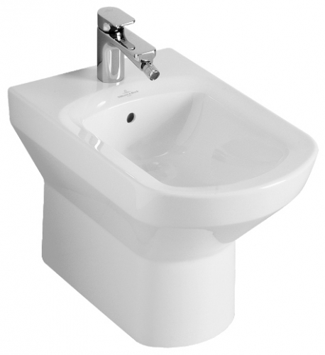 Sentique 54230001 Белый альпинБиде<br>Биде напольное Villeroy &amp; Boch Sentique 54230001. С переливом, отверстие для трех-позиционного смесителя, комплект креплений. Без покрытия Ceramic Plus. Цвет белый альпин.<br>