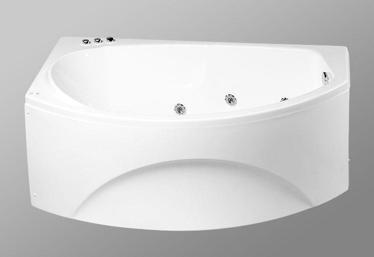 Laguna del Agnia 170x105 StandartВанны<br>В комплект входит: ванна, рама, монтажный набор, сточный комплект. Дополнительно вы можете приобрести: боковую и фронтальную декоративную панель,  смеситель, подголовник, карниз, уплотнительный профиль Akriflex, средство для очистки акриловых поверхностей, средство для очистки гидромассажных систем, чистящее средство для шторок Nanoglass, ароматическая жидкость Aroma.<br>