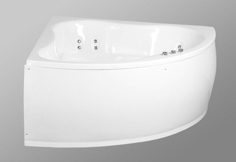 Laguna Vitel 140x140 StandartВанны<br>В комплект входит: ванна, рама, монтажный набор, сточный комплект. Дополнительно вы можете приобрести: фронтальную декоративную панель, шторки, смеситель, подголовник, карниз, уплотнительный профиль Akriflex, средство для очистки акриловых поверхностей, средство для очистки гидромассажных систем, чистящее средство для шторок Nanoglass, ароматическая жидкость Aroma.<br>