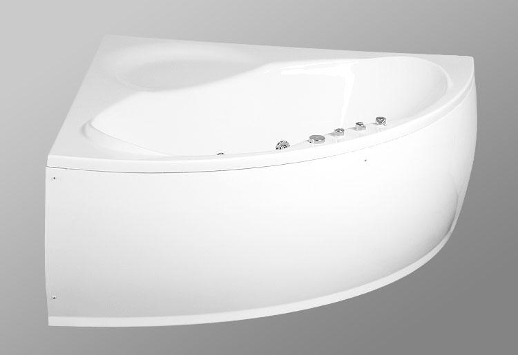 Laguna la Tigra 150x150 StandartВанны<br>В комплект входит: ванна, рама, монтажный набор, сточный комплект. Дополнительно вы можете приобрести: фронтальную декоративную панель, шторки, смеситель, подголовник, карниз, уплотнительный профиль Akriflex, средство для очистки акриловых поверхностей, средство для очистки гидромассажных систем, чистящее средство для шторок Nanoglass, ароматическая жидкость Aroma.<br>