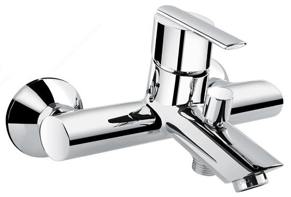 Elly 41001  ХромСмесители<br>Смеситель Emmevi Elly 41001 для ванны. Однорычажный, настенный. Цвет хром.<br>