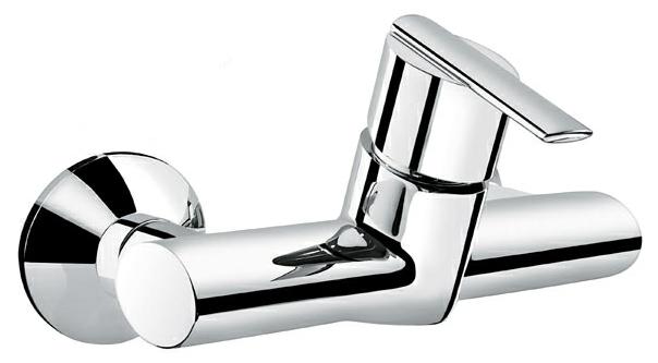 Elly 41002 ХромСмесители<br>Смеситель Emmevi Elly 41002 для ванны. Однорычажный, настенный. Цвет хром.<br>