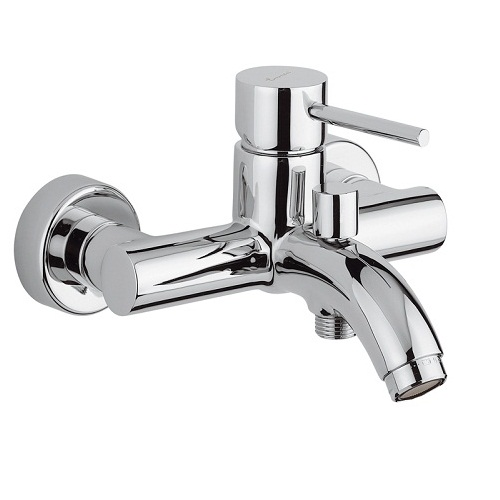 Смеситель для ванны Emmevi Piper 45001 Хром смеситель для ванны nvl 6169 однорычажный хром g lauf джилауф