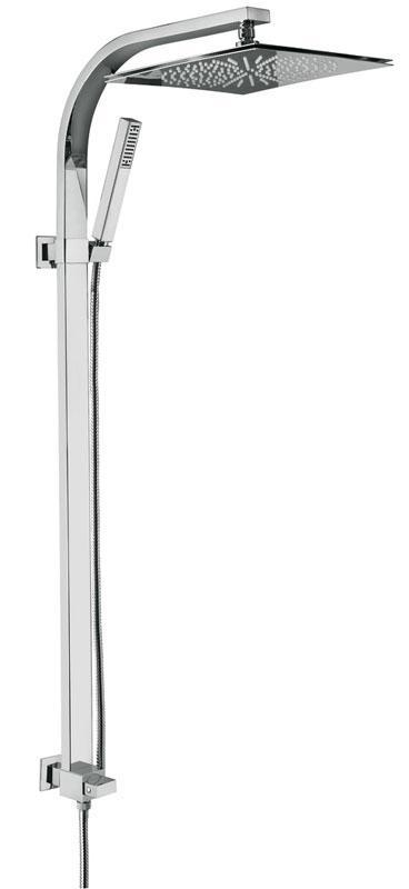 c02614 ХромДушевые системы<br>Душевая система Emmevi c02614. Душевая стойка для настенного смесителя. Цвет хром.<br>