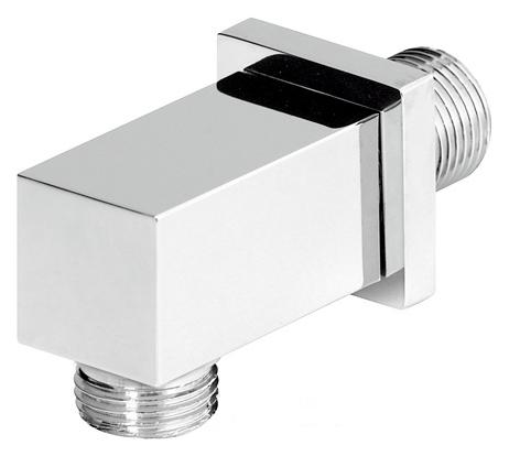 c06909 ХромКомплектующие<br>Вывод для воды Emmevi c06909. Вывод из стены на 1/2 мм, материал латунь, цвет хром.<br>
