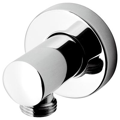 c06910 ХромКомплектующие<br>Вывод для воды Emmevi c06910. Вывод из стены на 1/2 мм, материал латунь, цвет хром.<br>