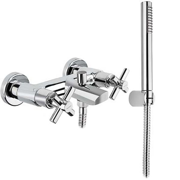 Смеситель для ванны Bugnatese Rodos 7300 CR (Хром) смеситель на борт ванны bugnatese rodos 7380 cr хром