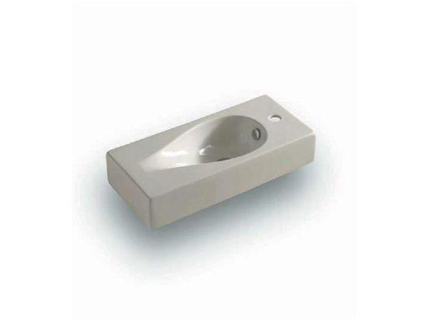 Drop DR 02 ЧернаяРаковины<br>Hidra Ceramica Drop DR 02. Накладная раковина прямоугольной формы с отверстием под смеситель, цвет: черный. Дополнительно можно приобрести сифон.<br>