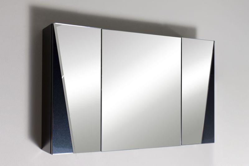 Vanto V800 12 Покрытие металликМебель для ванной<br>Зеркальный шкаф Valente Vanto V800 12 с тремя отсеками.<br>