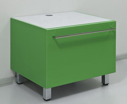 Severita S13 Покрытие металликМебель для ванной<br>Valente Severita S13 тумба высокая<br>