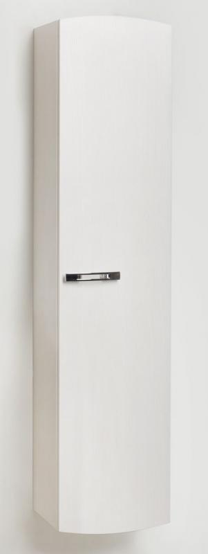 Inizio In 350 60 Покрытие глянецМебель для ванной<br>Пенал навесной настенный с распашным фасадом. Внутри – четыре стеклянные полки, которые делят внутреннее пространство шкафа на пять просторных отсеков для нужных мелочей. Размеры:350x230x1540 Петли справа.<br>