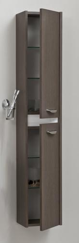 Massima M250 53 Покрытие шпонМебель для ванной<br>Valente Massima M250 53 пенал (петли справа) цвет мокко.<br>