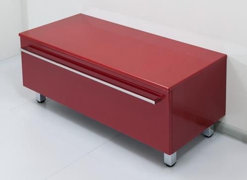 Severita S14 Покрытие металликМебель для ванной<br>Valente Severita S14 тумба низкая<br>