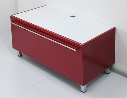 Severita S52 Покрытие глянецМебель для ванной<br>Valente Severita S52 тумба высокая<br>