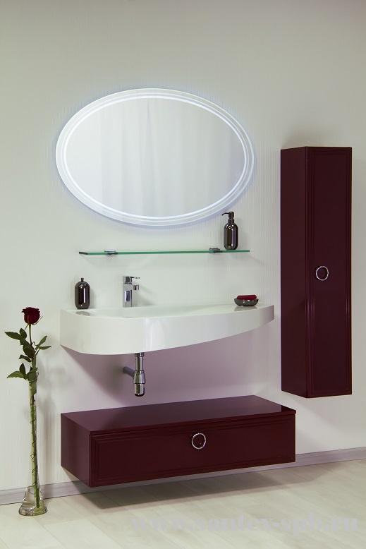 Eletto Elt 1000.31 Ме Покрытие глянецМебель для ванной<br>Valente Eletto Elt 1000.31 Ме тумба с выдвижным ящиком 1000*399*240 мм.<br>