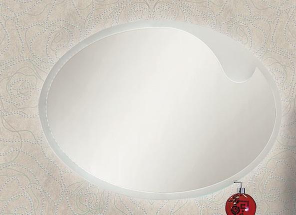 Lacrima Lac 1000.11-01 Покрытие глянецМебель для ванной<br>Valente Lac 1000.11-01 зеркало овальное со светодиодной подсветкой.<br>