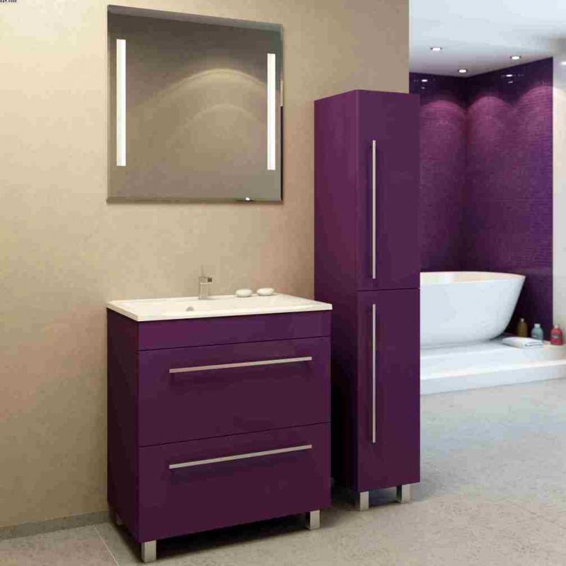 Прима 75 напольная Покрытие глянецМебель для ванной<br>Тумба под раковину Фэма Стиль Прима 75 напольная. Коврик против скольжения, крепеж к стене и ручка в комплекте.<br>