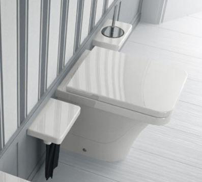 Flat FL 10 ЧерныйУнитазы<br>Hidra Ceramica Flat FL 10. Напольный унитаз черного цвета. Комплект креплений включен в стоимость, сиденье приобретается отдельно.<br>