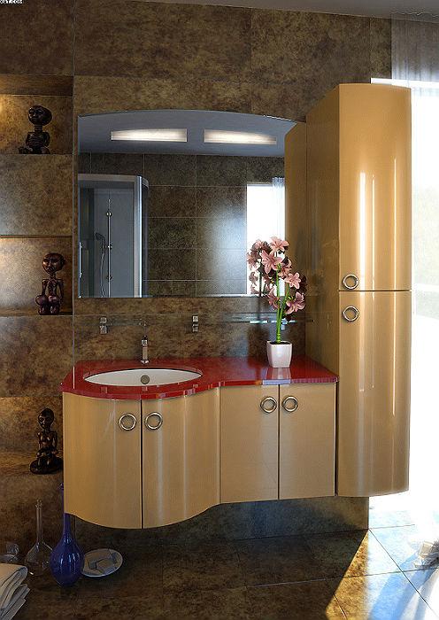 Сорренто 104 Цвет МеталликМебель для ванной<br>Тумба под раковину подвесная Фэма Стиль Сорренто 104, в комплект входят: коврик против скольжения - 3 шт., ручки - 3 шт., крепеж к стене, так же Вы можете приобрести - раковину, зеркало, пенал.<br>