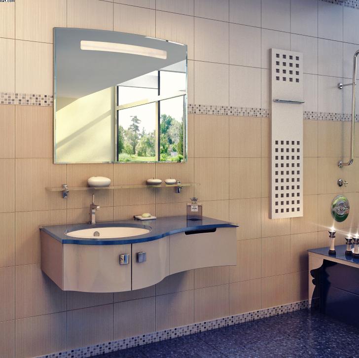 Готика-4 Цвет РАЛМебель для ванной<br>Тумба под раковину подвесная Фэма Стиль Готика-4. Две ручки, коврик против скольжения и крепеж к стене в комплекте.<br>