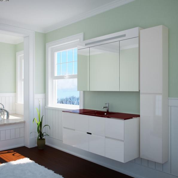 Ливорно - 120 подвесная Цвет МеталликМебель для ванной<br>Тумба под раковину подвесная Ливорно 120. Четыре коврика против скольжения и крепеж к стене в комплекте.<br>
