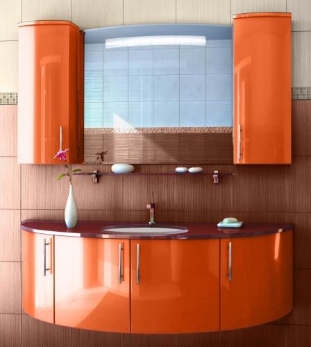 Кастелло 2 Цвет МеталликМебель для ванной<br>Тумба под раковину Фэма Стиль Кастелло 2. Крепеж к стене и две ручки в комплекте.<br>