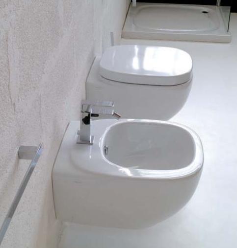 Dial DLW 14 БелоеБиде<br>Hidra Ceramica Dial DLW 14. Подвесное биде белого цвета с одним отверстием под смеситель. Комплект креплений включен в стоимость.<br>