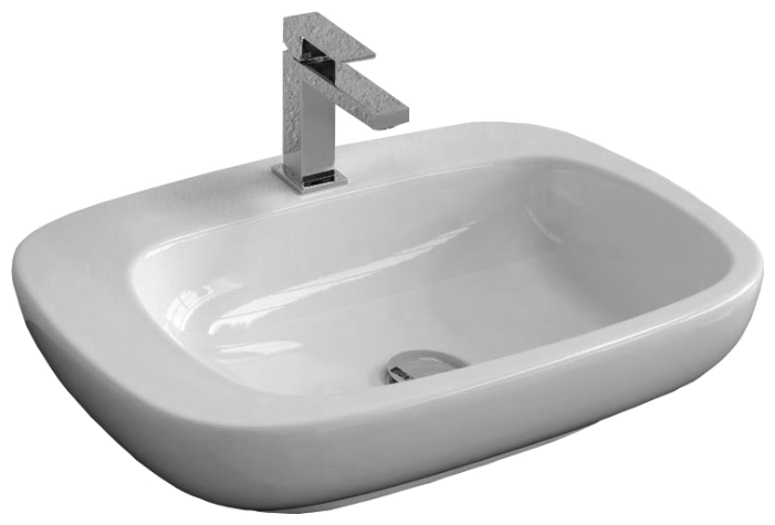 Dial DL 54 ЧернаяРаковины<br>Hidra Ceramica Dial DL 54. Накладная раковина, устанавливается на столешницу или мебель, цвет: черный. Дополнительно можно приобрести сифон, слив и комплект креплений.<br>