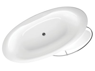 Presquile E6033 185x90Ванны<br>Ванна Jacob Delafon Presquile E6033. Размер (ДxШ) 1850x900 мм. Цвет белый. Слив расположен по центру. Элегантная модель, возможны несколько вариантов установки: встраиваемая, полувстраиваемая, свободностоящая.<br>