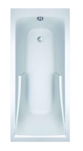 Corvette 3 E60904 150x70Ванны<br>Ванна на ножках Jacob Delafon Corvette 3 E60904. Размер (ДxШ) 1500x700 мм. Цена указана за ванну с комплектом ножек, все остальное приобретается дополнительно. Цвет белый.<br>