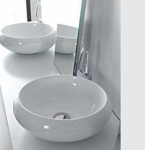 Tao TA 19 БелаяРаковины<br>Hidra Ceramica Tao TA 19. Накладная раковина, устанавливается на столешницу или мебел, цвет: белый. Дополнительно можно приобрести сифон и слив.<br>