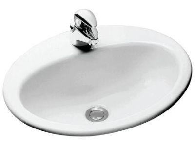 Ovale Minima E1358 БелыйРаковины<br>Раковина Jacob Delafon Ovale Minima E1358: очень комфортна благодаря сочетанию  небольшого диаметра и хорошей глубины.<br>