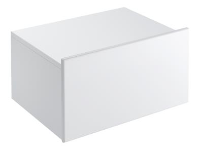 Formilia EB1013-HU-HU  Белый бриллиантМебель для ванной<br>Тумба Jacob Delafon Formilia EB1013-HU-HU под раковину. Один плавно закрывающийся выдвижной ящик, одна стеклянная перегородка для флаконов, оборудована вместительными ящиками для предметов повседневного использования.<br>
